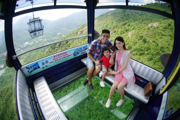 harga tiket Ngong Ping 360 Cable Car