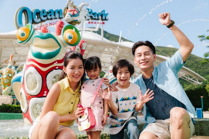 harga tiket Ocean Park Fun and Dine Package (E-ticket)