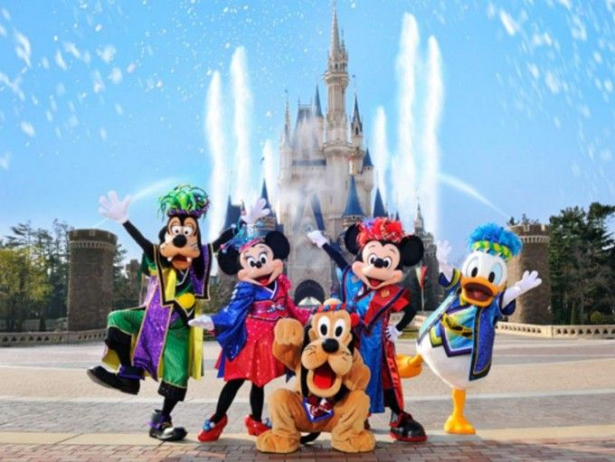 harga tiket One-day Tokyo Disneyland Admission Ticket, voucher redemption