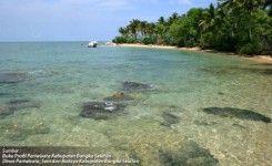 Pantai Pulau Celagen Pongok