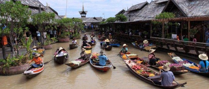 harga tiket Pattaya Floating Market
