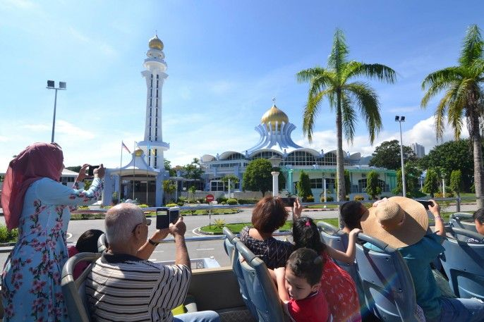 harga tiket Penang Hop-on, Hop-off Bus Pass