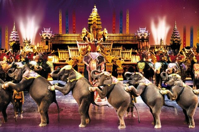 Phuket Fantasea Show with Optional Buffet and Transfers