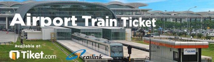 harga tiket RAILINK - Kualanamu Airport Train Ticket
