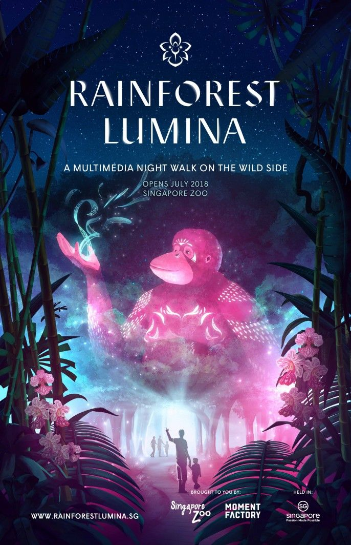 harga tiket Rainforest Lumina Admission