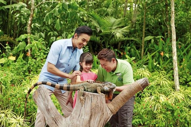 River Safari Singapore Admission Ticket with Two Boat Rides