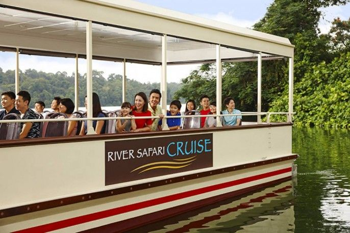 harga tiket River Safari Singapore Admission Ticket with Two Boat Rides