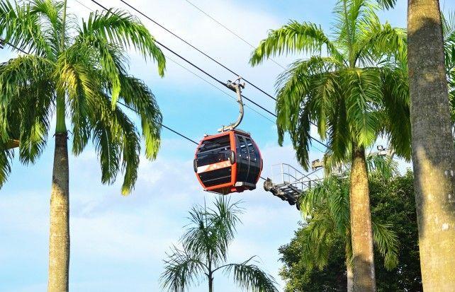 Singapore Cable Car Sky Pass