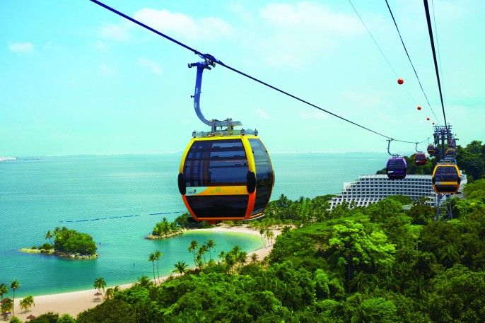 harga tiket Singapore Cable Car Sky Pass