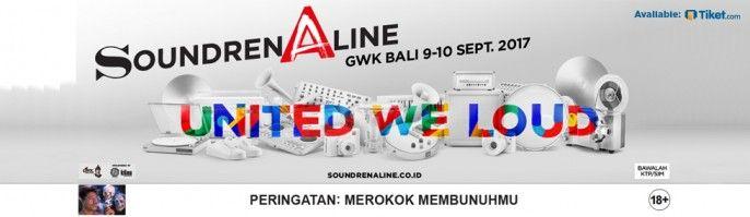 harga tiket SOUNDRENALINE BALI 2017