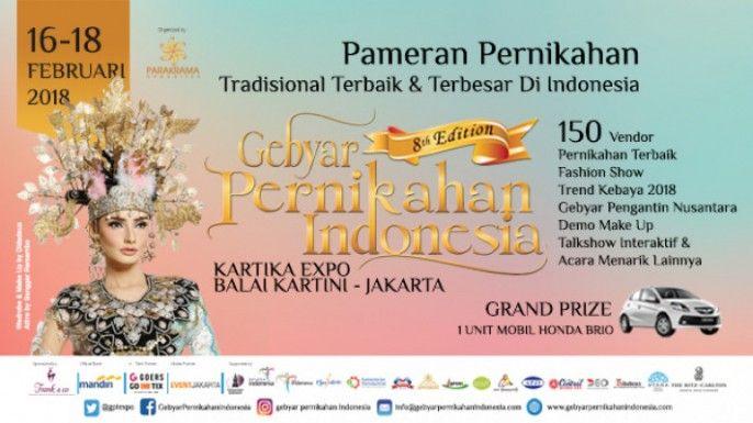 harga tiket THE 8TH GEBYAR PERNIKAHAN INDONESIA