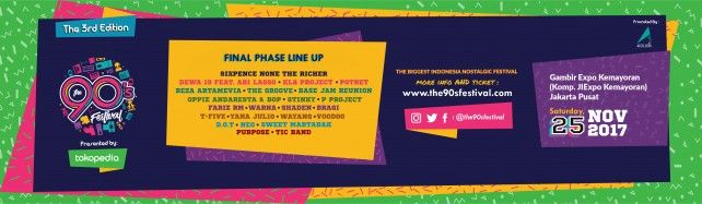 The 90s Festival 2017
