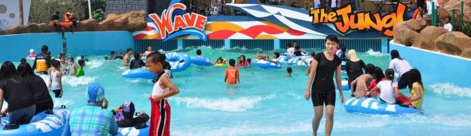 harga tiket The Jungle Waterpark Bogor