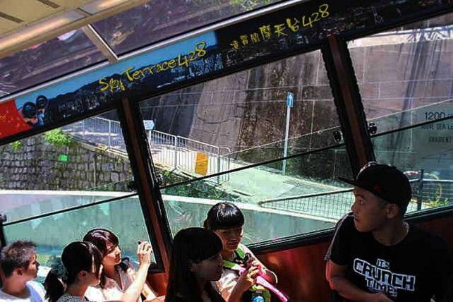 The Peak Tram Roundtrip with Sky Terrace 428