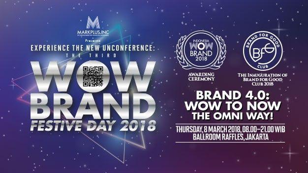 harga tiket WOW Brand Festive Day 2018