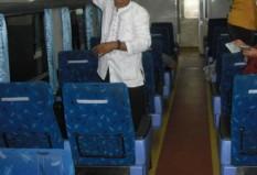 Interior Malabar gerbong eksekutif