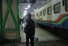 Di stasiun Sidoarjo