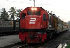 Rajabasa di stasiun Prabumulih