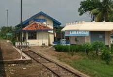 Objek Wisata Stasiun Larangan