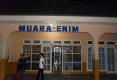Objek Wisata Stasiun Muara Enim