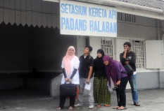 Objek Wisata Stasiun Padanghalaban